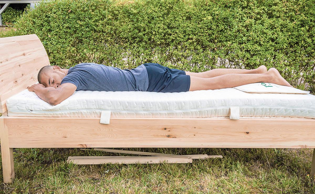 Schlafanalyse, individuelle Anpassung, Schlafsystem